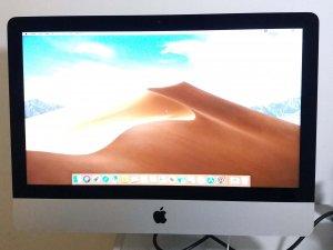 二手 iMac 2014 Mid i5 8G 500G HDD  21.5″ 外觀新淨 淨機連電源線(已售出)