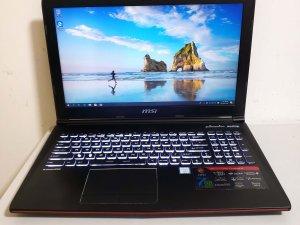 二手 MSI 電競手提電腦  i7-7700HQ 8G GTX 1050 128G+1T 15.6″  (已售出)