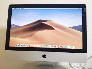 二手 iMac 2013 Late 21.5″ i5 8G 1T 新淨 淨機 保用7日 (已售出)