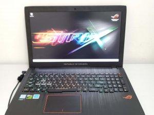 電競筆電 ASUS ROG GL553V i7-7700HQ DDR4 8G RAM 128G SSD +1TB GTX 1050 4G 新淨 7日保用(已售出)