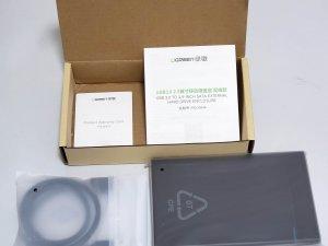 (全新)綠聯 USB3.0 2.5英吋外置硬碟盒