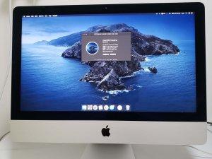 iMac (Retina 4K, 21.5-inch, 2019) I7 16G 1TB 混合硬碟 有apple Care 到 2022年6月(已售出)