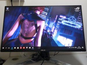 ASUS TUF Gaming VG279QL1A 27吋電競顯示器 0光點死點,9月尾買入,先試後買,搬屋出讓(已售出)