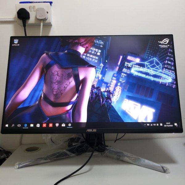 二手 ASUS TUF Gaming VG279QL1A 27吋電競顯示器