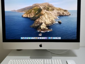 iMac 2020 27″ 5K mon (i7-10th+32G+512G+AMD 5500 XT 8GB) 有Apple Care+ 保到2023年8月 先試後買(已售出)