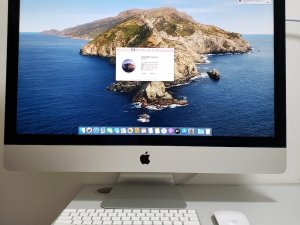 iMac Retina 5K 27″ (2019) i5 32G Ram 1.03TB Fusion Driver 570X 4G 有保到5月,可試機(已售出)