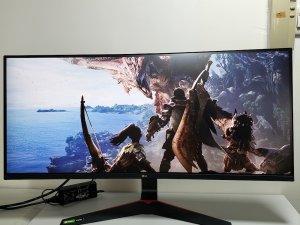 LG 34″ 21:9 UltraWide 專業電競顯示螢幕 34GL750-B (極新淨,0死點0光點) 可以試(已售出)